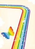 tła jaskrawy koloru grunge wektor ilustracji