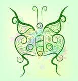 tła jaskrawy motyla fantazja ilustracja wektor