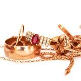 tła jewellery biel Zdjęcie Stock