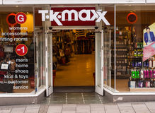 T.K. Maxx Department Store Royalty Free Stock Photography