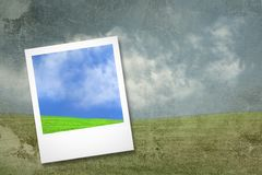 tła karciana grunge krajobrazu fotografia obraz stock