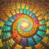 tła karcianego projekta fractal dobry plakat Obraz Stock