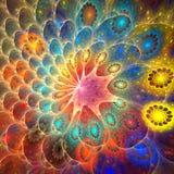 tła karcianego projekta fractal dobry plakat Fotografia Royalty Free