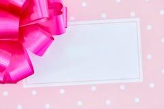 tła karcianego projekta kwiecista prezenta ilustracja twój Zdjęcie Stock