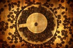 tła kawowy elementów grunge Zdjęcie Royalty Free