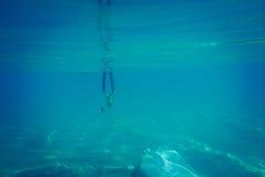 tła koloru ilustraci wzoru bezszwowa wektoru woda Obraz Royalty Free