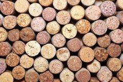 tła korków wino Obrazy Stock