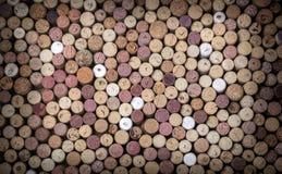 tła korków wino Zdjęcia Royalty Free