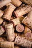 tła korków wino Zdjęcie Stock