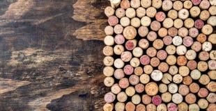 tła korków wino kosmos kopii Zdjęcia Stock