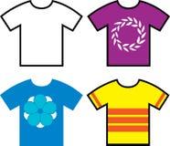 T koszula projekty ilustracji
