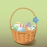 tła koszykowy Easter astronautyczny tekst Obraz Stock