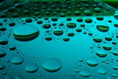 tła kropel woda Obraz Royalty Free
