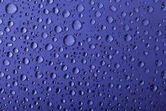 tła kropel woda Obraz Stock
