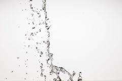 tła kropelek wody biel Obrazy Stock