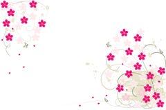 tła kwiatu grunge Zdjęcie Royalty Free
