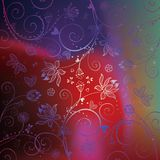 tła kwiatu lotos bezszwowy Zdjęcie Stock