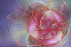 tła kwiatu purpury Zdjęcie Stock