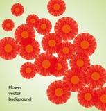 tła kwiatu wektor Fotografia Stock