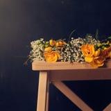 tła kwiecisty kwiatów rocznik Obrazy Stock
