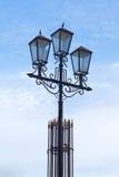 tła lampowa nieba ulica Fotografia Royalty Free