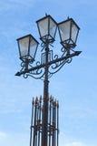 tła lampowa nieba ulica Obraz Royalty Free