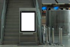 Tła LCD wielka reklama Fotografia Stock