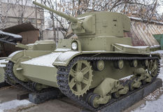 T-26- Light Tank (USSR) 1933 Stock Image