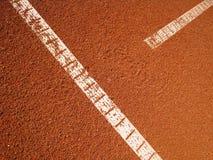 T-line del campo de tenis (18) Fotos de archivo libres de regalías