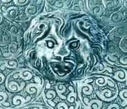 tła lwa silverware Zdjęcie Stock