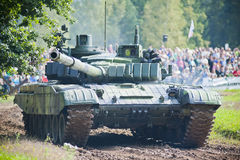 T72-M4cz, tank Royalty Free Stock Photo