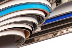tła magazynów sterty biel Obraz Stock