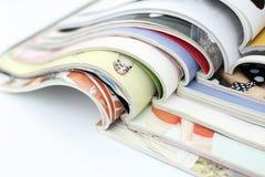 tła magazynów sterty biel Obrazy Stock