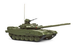 T-90 Main Battle Tank. Model. Stock Photography