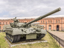 T-80 - the main battle tank produced in the USSR Royalty Free Stock Images