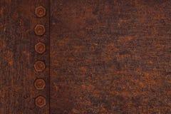 tła metalu talerza rdza Zdjęcia Stock