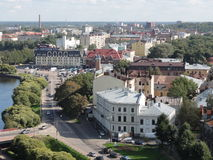 tła miasta krajobrazu naturalna panorama Fotografia Stock