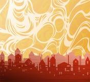 tła miasta temat Ilustracji
