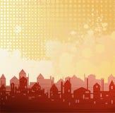 tła miasta temat Ilustracja Wektor