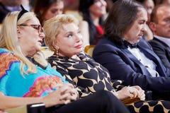 T.Mikhalkova, T.Andreeva och Al.Inshakov Royaltyfria Foton