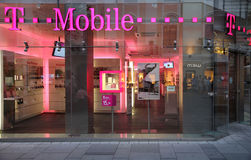 T Mobile Royalty Free Stock Photo
