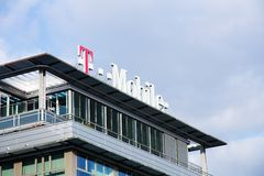 T-mobile Photographie stock