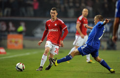 T-Mobile Extra League Polish Premier Football League Wisla Krakow - Ruch Chorzow Stock Photography