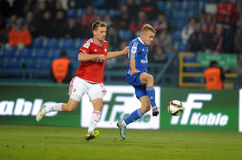T-Mobile Extra League Polish Premier Football League Wisla Krakow - Ruch Chorzow Royalty Free Stock Photography
