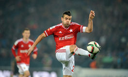 T-Mobile Extra League Polish Premier Football League Wisla Krakow - Ruch Chorzow Stock Photos