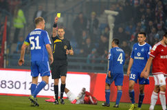 T-Mobile Extra League Polish Premier Football League Wisla Krakow - Ruch Chorzow Royalty Free Stock Photos