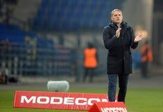 T-Mobile liga Ekstra połysku Najważniejszy liga footballowa Wisla Krakow, Ruch Chorzow - Obraz Stock