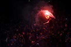 T-Mobile liga Ekstra połysku Najważniejszy liga footballowa Wisla Krakow, Ruch Chorzow - Zdjęcia Royalty Free
