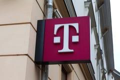 T-Mobile logo Arkivbild