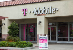T-Mobile Store Exterior Royalty Free Stock Image
